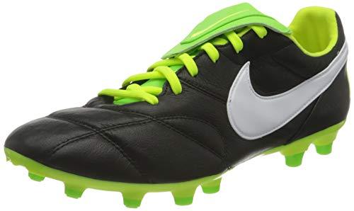 Nike The Premier II Fg, Scarpe da Corsa Uomo, Black/White-Volt-Electric Gree, 44.5 EU