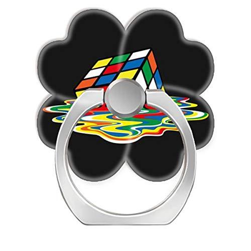 NSNNS - Agarre Extensible para teléfono móvil, rotación de 360°, Agarre Plegable y Soporte para teléfonos y tabletas, diseño de Cubo Rubik-s