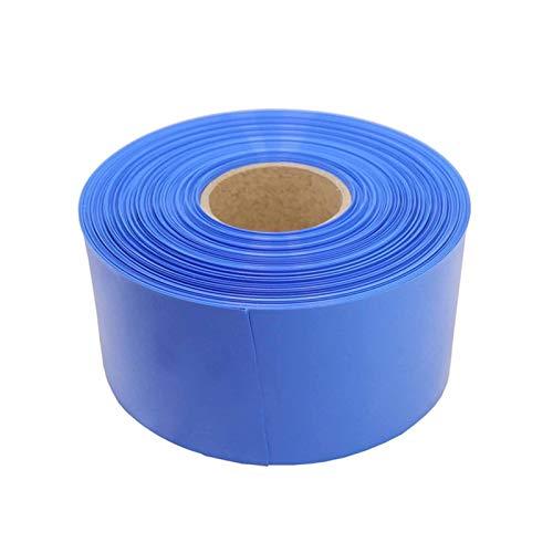 IINSSDJ 2M Schrumpfschlauch PVC Schrumpfschlauch for Batterien-Pack Schutzisolierung Gehäuse Kabeltülle Hat Einen Umfang Das Ist Doppelt So Groß Wie (Size : 18mm)