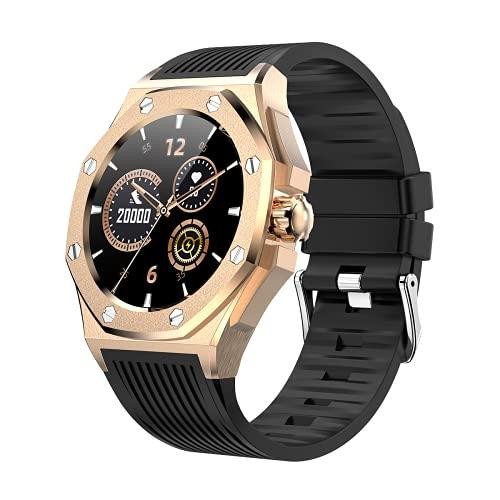 Reloj inteligente F9A para hombres y mujeres, monitor de frecuencia cardíaca, podómetro, contador de calorías, IP67, impermeable, con pantalla HD de 1.3 pulgadas, regalo cálido