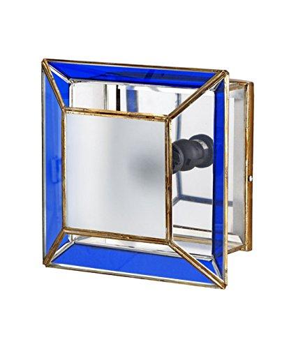 Plafon-Aplique Artesanal Granadino : Modelo AL-ANDALUS 605 de 25x13cms.