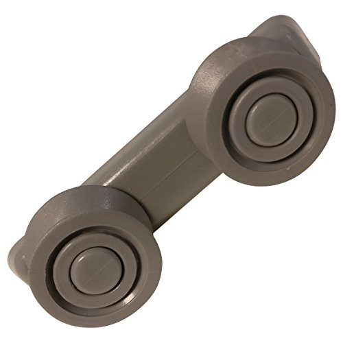 Support gris roulette de panier Lave-vaisselle 34420166 CURTISS