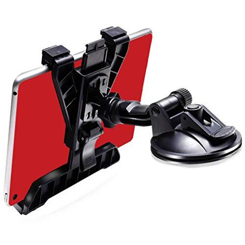GP‐PRO タブレットホルダー 車載 【進化版】ダッシュボード用 粘着ゲル+真空 吸盤 トラックOK ipad