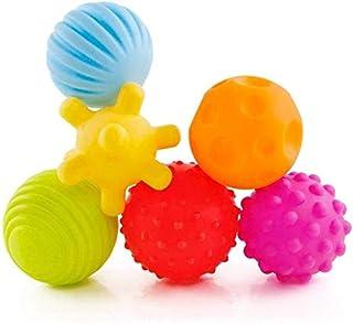 ROHSCE 6pcs Baby Textured Multi Sensory Ball Set