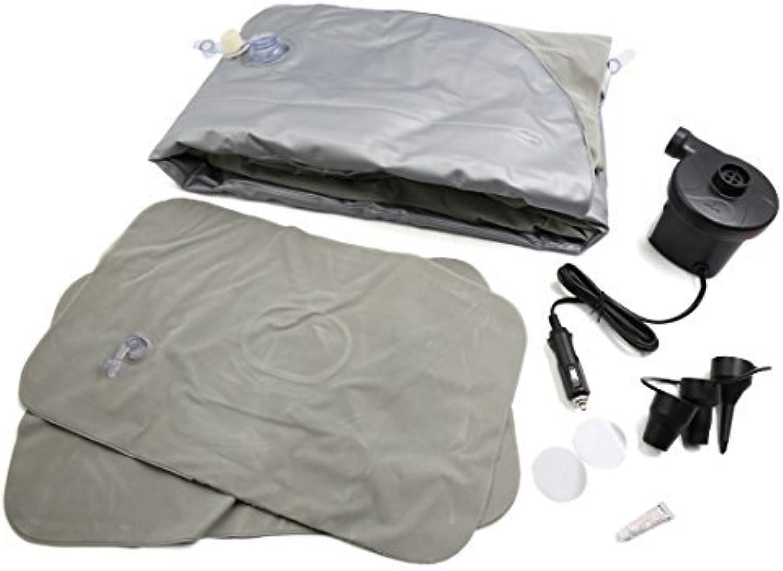 Dealmux grau Beflockung Beflockung Beflockung aufblasbares Air Matratze Auto Outdoor Schlafsack Camping Reisebett B072SJW85X  Modernes Design 6dad28