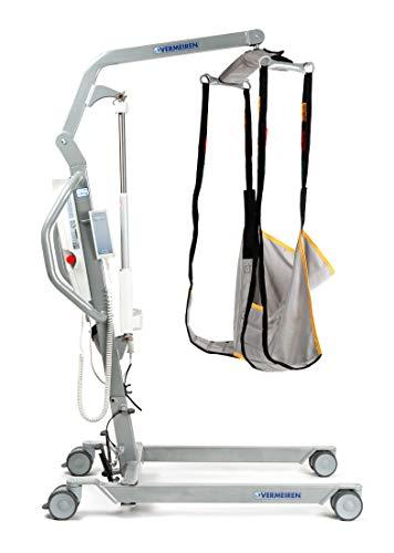 FabaCare Patientenlifter Eagle 620, Hebelift für Patienten und Personen bis 150 kg, Personenlifter mit Liftertuch Größe XL
