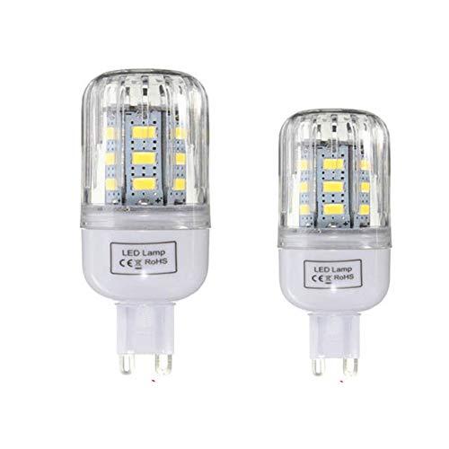 Liyuzhu G9 Regulable 3W AC110V Bombilla LED 24 SMD 5730 lámpara del maíz Luz (tamaño : Warm White G9)