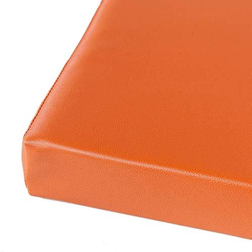 Kunstleder-Möbelpolster für den Garten, wasserdicht, für Terrasse, Bank, bequemes Metall/Holz, 5 cm dicke Matte für Terrasse, Esszimmer