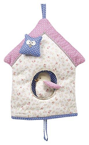 Pasito a Pasito - Casa musical rosa con animalitos, muy especial para dormir a tu bebé