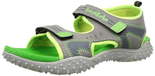 Footfun (from Liberty) Unisex Green Fashion Sandals - 10 Kids UK/India (28 EU) (8074030140280)