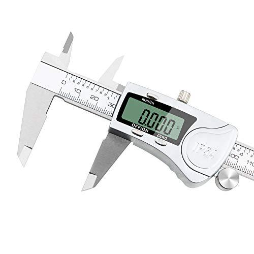 Rubeder digital caliper 8 inch/200 mm electronic vernier calipers ip54...