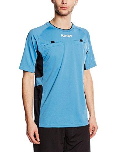 Kempa - Camiseta de árbitro unisex, color azul/negro, talla XL