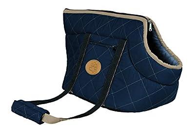 Trixie Viktoria Dog Bag. Dark blue/light blue. 26 × 29 × 50 cm by Trixie