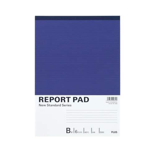 プラス レポート用紙 A4 B罫 50枚 RE-250B ( 2冊 )