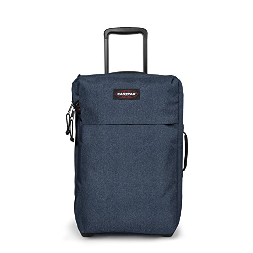 Eastpak Traf'Ik Light S Valigia, 51 cm, 33 L, Blu (Double Denim)