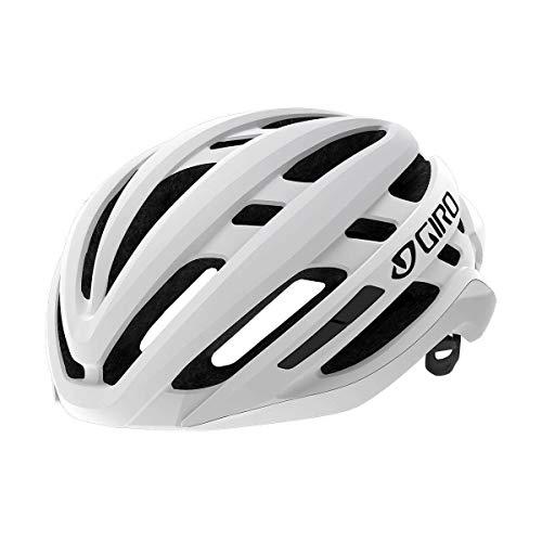 Giro Agilis Casco de Ciclismo Road, Blanco Mate, L   59-63cm