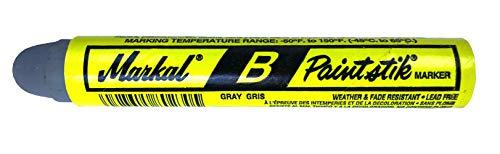 Single Markal B Gray Tire Chalk Paint Stick Crayon Surface Marker Graffiti Art