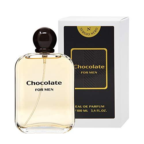 SERGIO NERO • CHOCOLATE Eau de Parfum (EDP) für Männer/Herren/Homme • das süße Gourmetaroma für ihn (100 ML)