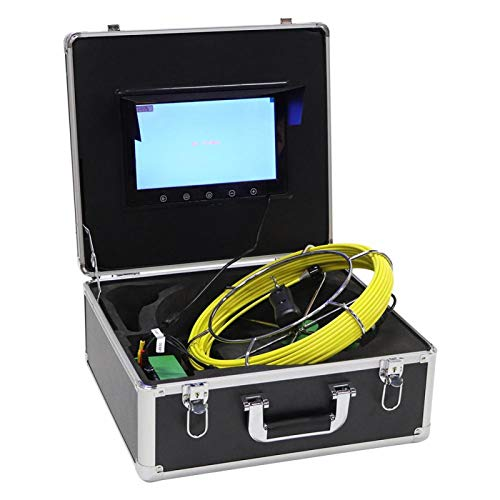 10 inch kleuren LCD-monitor Pijpinspectiesysteem Rioolinspectiesysteem WiFi-endoscoop voor pijpleidingen(European…