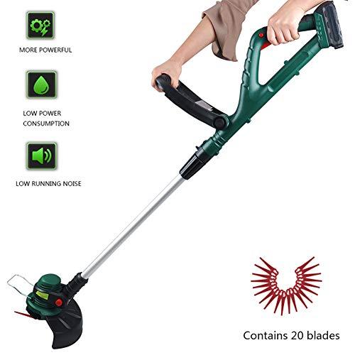 Handheld onkruid eter, draadloze elektrische grasmaaier Lithium batterij Huishoudelijke Kleine Multi-Function Lawn Weeder voor Boom Gazon Zorg Thuis Gardening