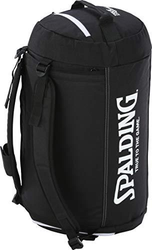 Spalding Sporttasche Tasche mit Rucksack-Funktion mit Aufdruck Name