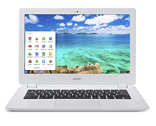 Acer Chromebook CB5-311-T677 - 13.3' Full HD Display, NVIDIA Tegra K1 2.1GHz, 4GB RAM, 32GB SSD - White (Renewed)