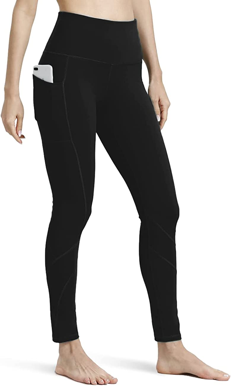 ALONG FIT high Waist Workout Leggings for Women with Pockets Tummy Control Yoga Pants for Running
