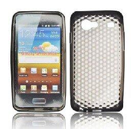 CUSTODIA GEL TPU SILICONE per SAMSUNG i9070 Galaxy Advance S COLORE NERO