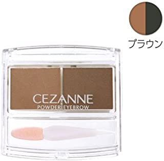 Cezanne Powder Eyebrow R (Brown)