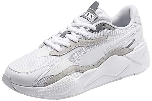 Puma - Mens Rs-X3 Puzzle Shoes, Size: 13 D(M) US, Color: Puma White/Puma Silver