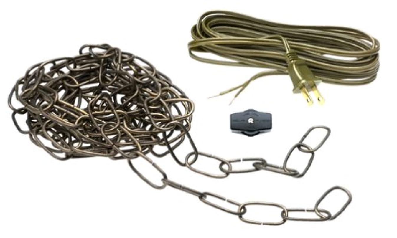 Westinghouse Lighting 70481-00 Swag-Light Kit, 12', Antique Brass