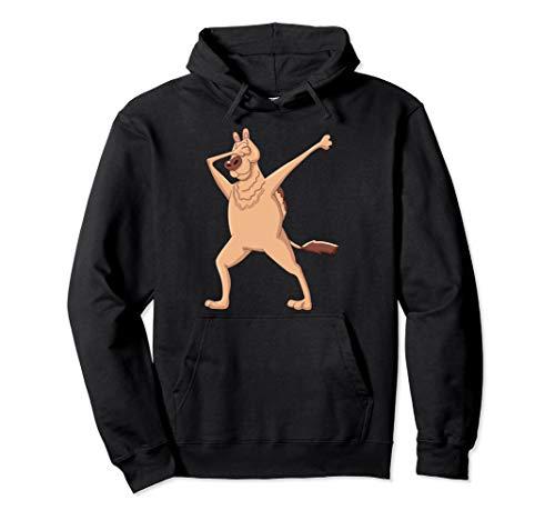 Kinder Dabbing Dromedar Kleidung Dab Dance Tanzendes Kamel Pullover Hoodie