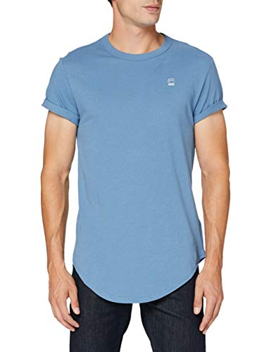 G-STAR RAW Duct Relaxed Short Sleeve T-Shirt, Maiolica di Delft, M Uomo