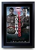 HWC Trading Gerahmtes Autogramm von Joshua Klitschko Fight