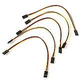 QPLKL Módulo electrónico 3-Pin Rueca Rueca A La Línea del Alambre For A-r-d-u-i-n-o (21cm / 5PCS)