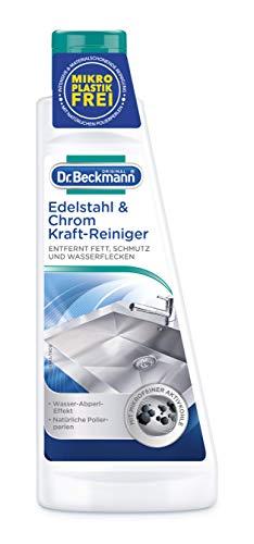 Dr. Beckmann Edelstahl & Chrom Kraft-Reiniger, Mit Aktivkohle (1 x 250 g)