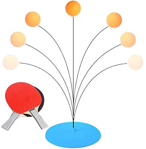 Juego de tenis de mesa de ping pong con elástico eje suave,...