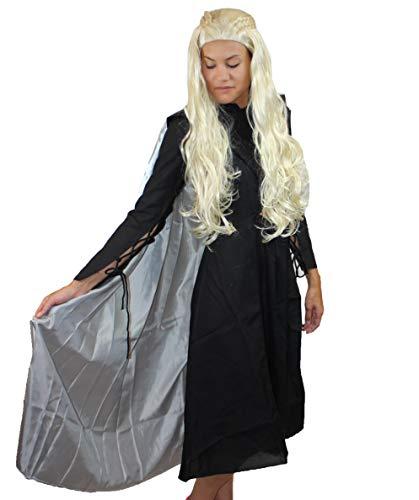 Game of Thrones Dragon Queen Costume, Black Adult HC-732 M