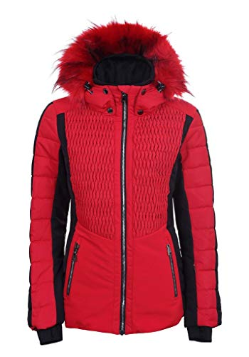 LUHTA Jaanu L7 Damen Winter- Skijacke klassisch rot Gr. 46