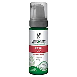 Vet's Best Quick Soothe Hot Spot Foam for Dogs