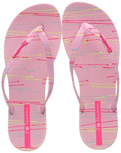 Ipanema Damen Wave Art FEM Zehentrenner, Mehrfarbig (Pink 8553), 35/36 EU