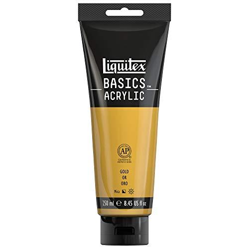 Liquitex BASICS Acrylic Paint, 8.45-oz tube, Gold