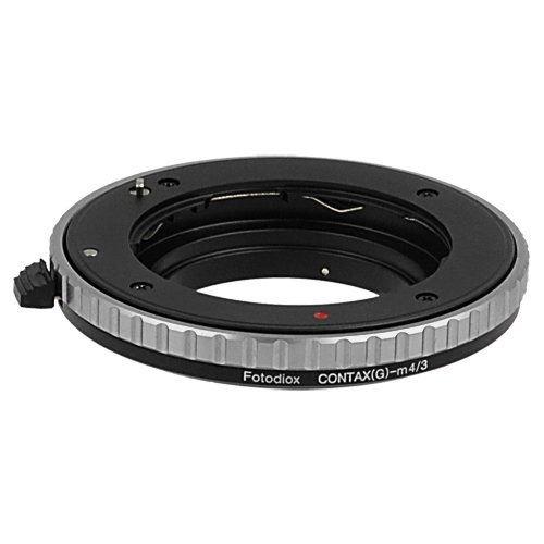 Fotodiox objectiefadapter (Lens Mount Adapter), Contax G lens op MFT Micro 4/3 (Four Thirds Fourthirds System) camera, voor Olympus Pen E-PL1, E-P2, Panasonic Lumix DMC-G1, G2, GH2, GF1, GH1 G10,