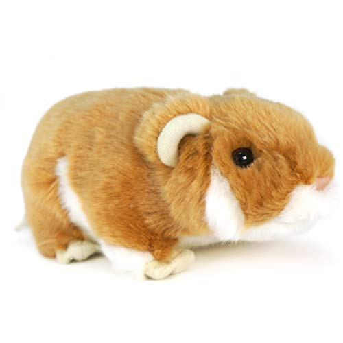 Chippy The Hamster - 6 Inch Stuffed Animal Plush Gerbil - by Tiger Tale Toys