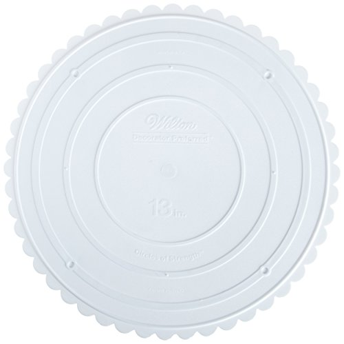 Assiette Ronde de Séparation pour Gâteaux Decorator Preferred, 33 cm (13\