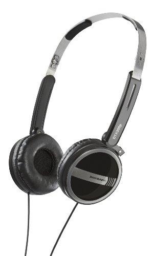beyerdynamic DTX 300p On-Ear-Kopfhörer (104 dB, 3,5 mm Klinkenstecker) schwarz/silber