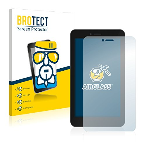BROTECT Panzerglas Schutzfolie kompatibel mit TrekStor SurfTab Breeze 7.0 Quad 3G - AirGlass, 9H Festigkeit, Anti-Fingerprint, HD-Clear