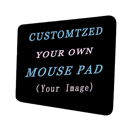 Custom Design Your Customized Non-Slip Mouse pad with Photo Text Logo for Gaming Office Personalized Gift Horizontal Style 2 10x12in