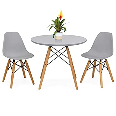 Best Choice Products Eames Table and Chairs Set
