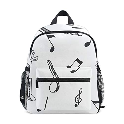 MALPLENA Bolsa de viaje para niños Love Music School Bag